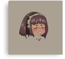 flower voice Canvas Print