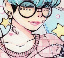 Pastel Yoongi v2 Sticker