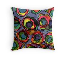 Mystery Blossom Throw Pillow
