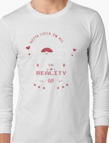 Lost In Reality  Long Sleeve T-Shirt