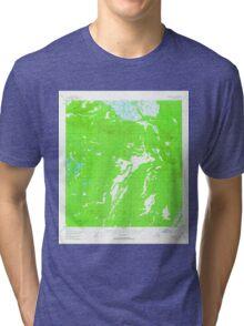 USGS TOPO Map Alaska AK Nabesna C-2 357929 1955 63360 Tri-blend T-Shirt
