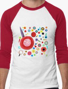 Rupydetequila whimsical Illustration 2016 Men's Baseball ¾ T-Shirt