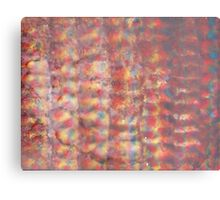 Watercolor Ink Texture Painting Canvas Print
