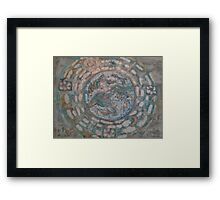 Earth Mandala   Framed Print