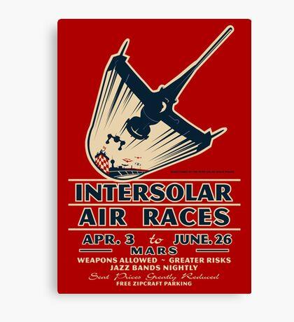 Intersolar Swordfish  Canvas Print