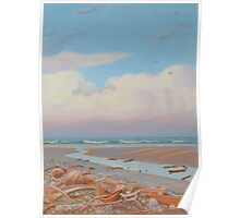 Wintry Afternoon at Four-Mile Beach, Port Douglas Poster