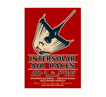 Intersolar Swordfish Print Art Print