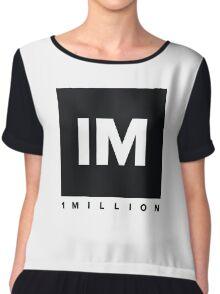 1 million dance studio shirt Chiffon Top