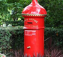 Pillarbox Red by Maggie Hegarty