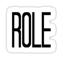 No Role Modelz Sticker