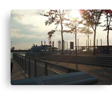 Views of Red Hook - Water Taxi Station Canvas Print