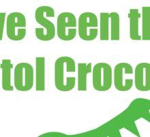 Bristol Crocodile Funny Urban Myth Sticker