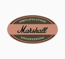 Vintage Marshall Amps Baby Tee