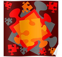 Jigsaw Jumble Poster