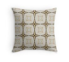 PATTERNATION| BROWN STARZ | RB EXCLUSIVE  Throw Pillow