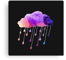 Raindrop Cloud Canvas Print