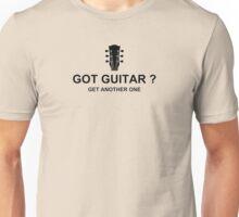 Got Guitar Black Unisex T-Shirt