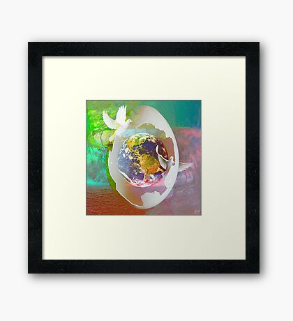 """"""" You have a new message """" Framed Print"""