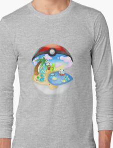 Pokemon: Water Starters Home Long Sleeve T-Shirt