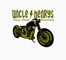 Bobber Motorcycle 'Fuel your Passion' in yellow Unisex T-Shirt