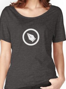 The Super Pen Tool - Super Graphic Designer Emblem Women's Relaxed Fit T-Shirt