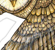 Silent Wings Sticker