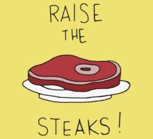 Raise the Steaks! One Piece - Short Sleeve