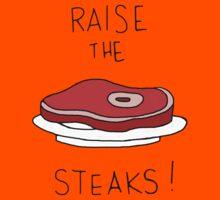 Raise the Steaks! Kids Tee