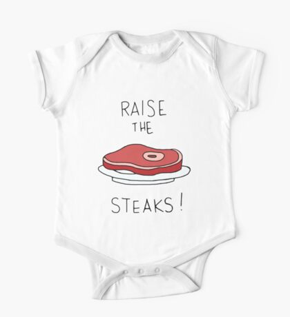 Raise the Steaks! One Piece - Short Sleeve