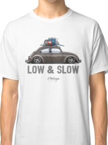 VW Beetle Low & Slow (brown) Classic T-Shirt