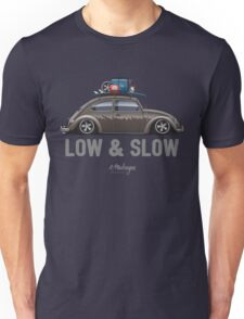 VW Beetle Low & Slow (brown) Unisex T-Shirt