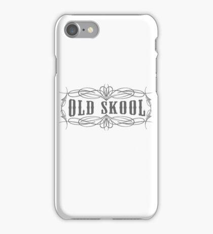 Old Skool Pinstripe Design iPhone Case/Skin