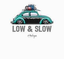 VW Beetle Low & Slow (aquamarine) Unisex T-Shirt