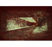Hell Tunnel Photographic Print