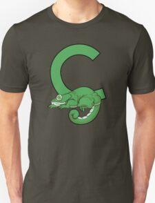 C is for Chameleon Unisex T-Shirt