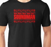 Good Soundman Red Unisex T-Shirt