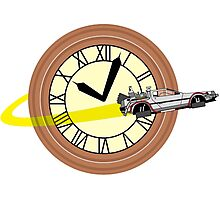 Doc Brown Institute of Time Travel Photographic Print