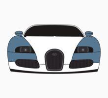 Bugatti Veyron Blue Baby Tee