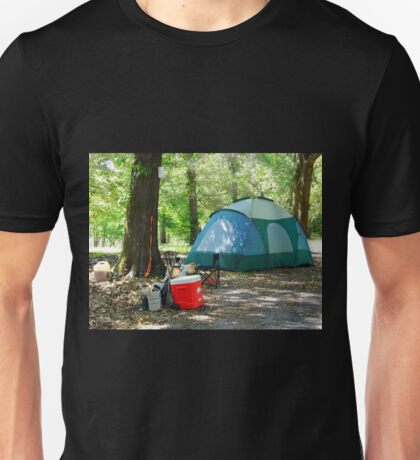 Camping In Luxury Unisex T-Shirt