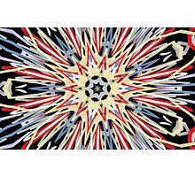 Graffiti Kaleidoscope Print (Original) Photographic Print