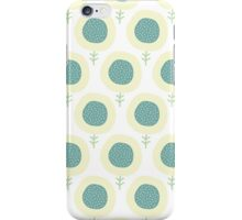 Simple kids flower pattern. Doodle pastel seamless background. Cute wallpaper. iPhone Case/Skin