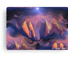 GLORIOUS CREATOR! Canvas Print