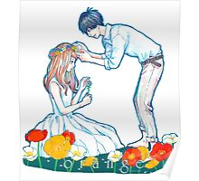 Orange Anime Naho Kakeru Love Poster