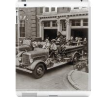 Early 20th Century Fire Engines iPad Case/Skin