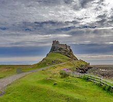Lindisfarne Castle by Trevor Kersley