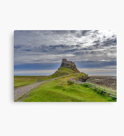 Lindisfarne Castle Canvas Print