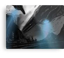 UFO MOFO Metal Print