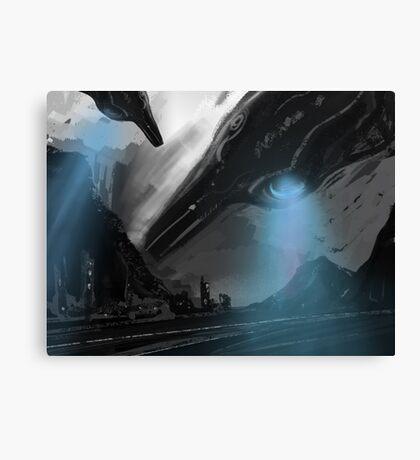 UFO MOFO Canvas Print
