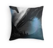 UFO MOFO Throw Pillow