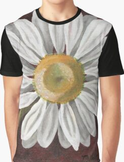 Summer Daisy Painting Graphic T-Shirt